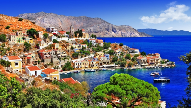 Beautiful Greek islands - Symi Greece